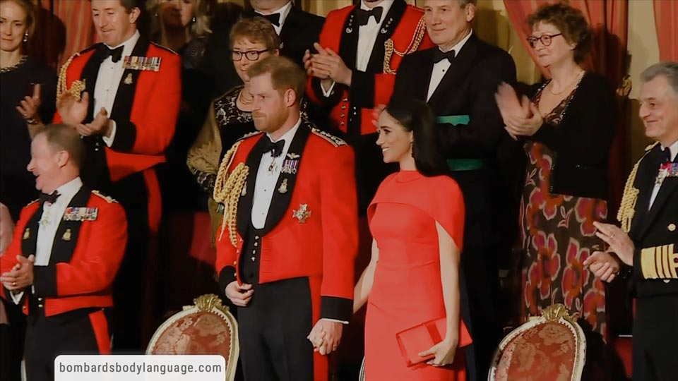 Body Language - Prince Harry And Meghan Markle