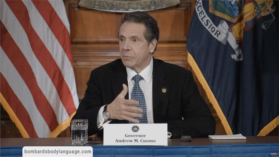 Body Language - Governor Andrew Cuomo, Risk Reward