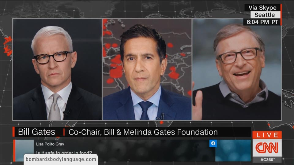 Body Language - Bill Gates On Coronavirus