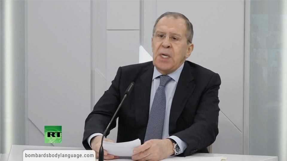 Body Language - Sergey Lavrov, Covid-19 World Will Be Different