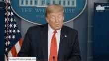 Body Language – Trump, close to the light