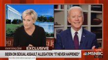Body Language – Joe Biden & Tara Reade