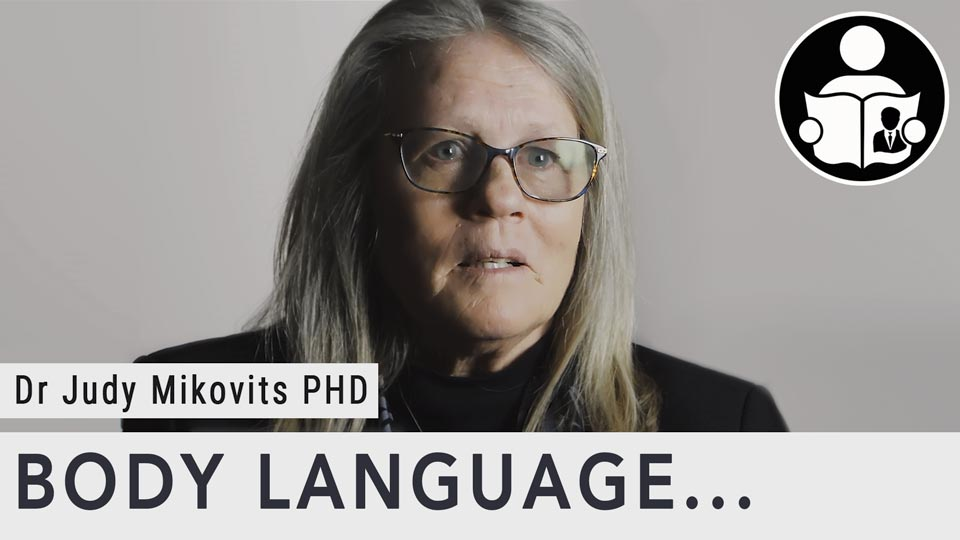 Body Language - Dr Judy Mikovits PHD