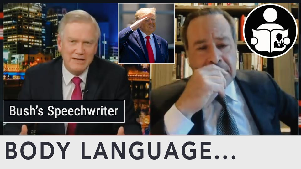 Body Language - Bush Speechwriter Anti Trump Beliefs