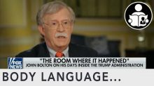 Body Language – Bolton Book On Trump Administration