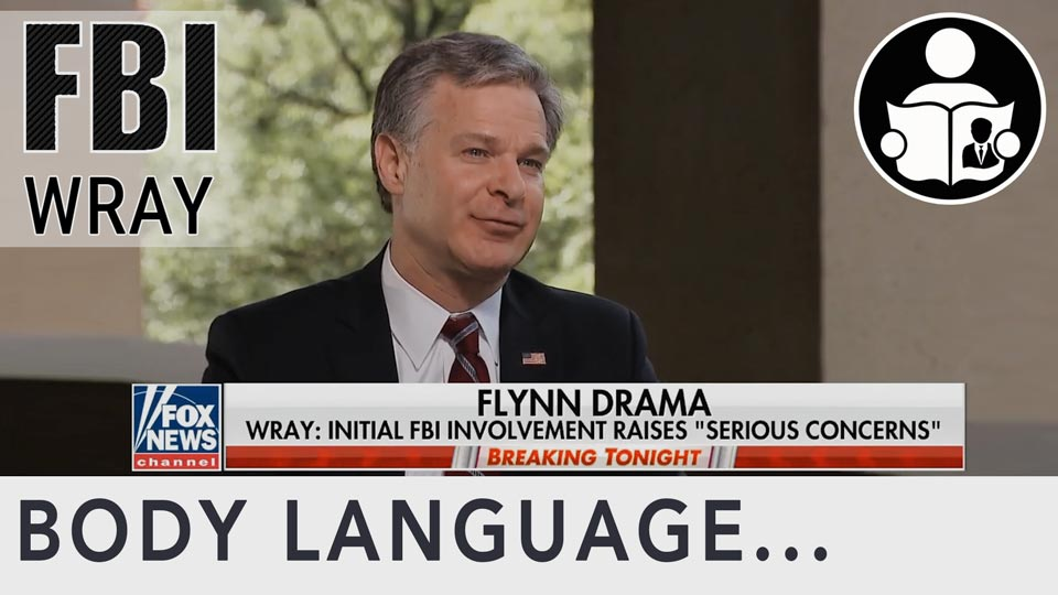 Body Language - FBI Christopher Wray, Wolf Or Sheepdog