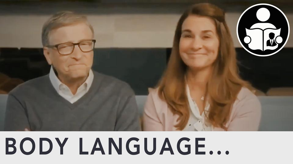 Body Language - Bill & Melinda Gates