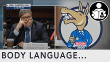 Body Language – AG Barr, The First Congressional Presidential Debate
