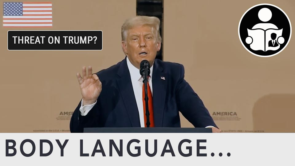 "Body Language - Trump ""Last time you see me for a while"""