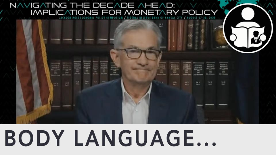 Body Language - Jerome Powell, Federal Reserve Inflation Goals