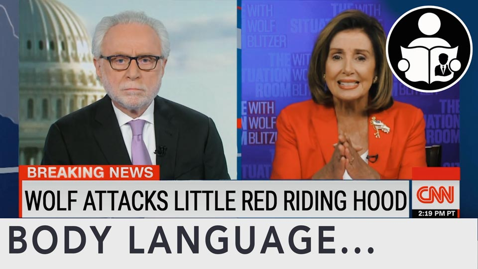 Body Language - Wolf Vs Pelosi
