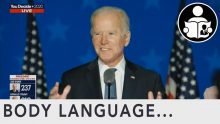 Body Language – Joe Biden Election Remarks