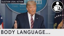 Body Language – President Trump Election Legal Action