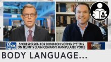 Body Language – Dominion Spokesperson On Voting Systems
