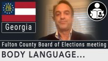 Body Language – Fulton County Board Of Elections Meeting