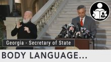 Body Language – Georgia's Secretary of State Brad Raffensperger