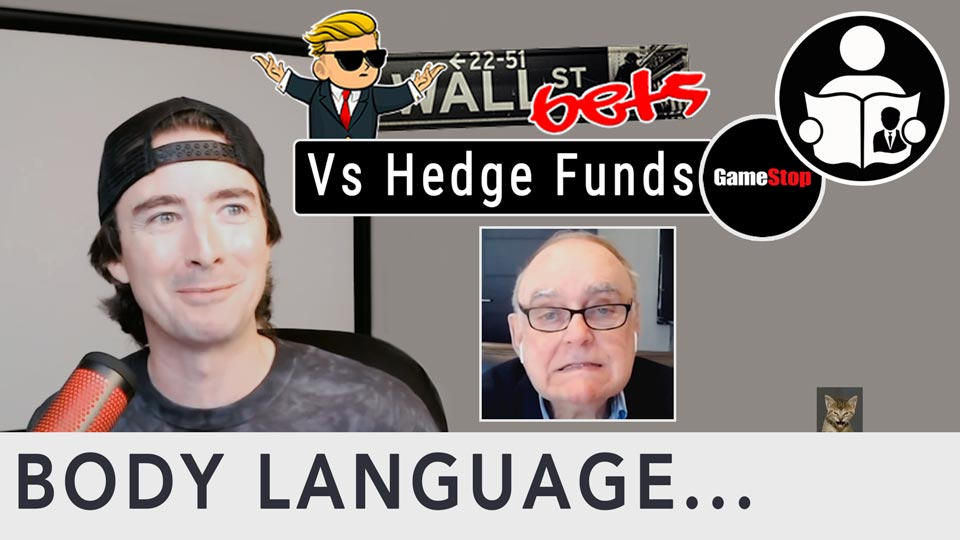 Body Language - WallStreetBets Vs Hedge Funds, Gamestop