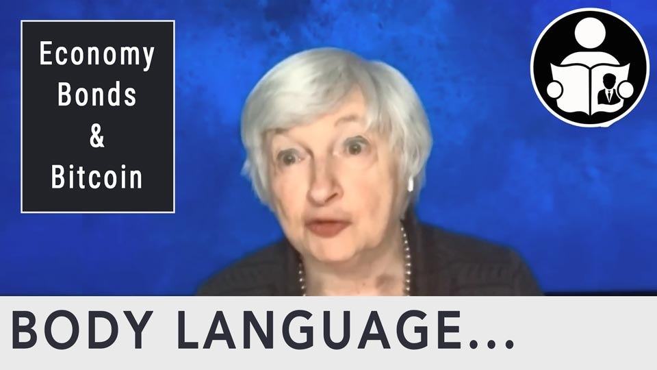 Body Language - Treasury Secretary Janet Yellen on Economy, Bonds & Bitcoin