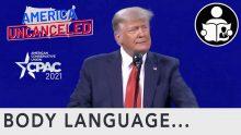 Body Language – Trump & Jordan at CPAC
