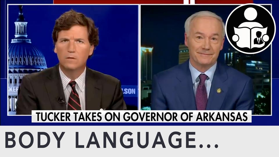 Body Language - Arkansas Governor, Gender Reassignment Bill