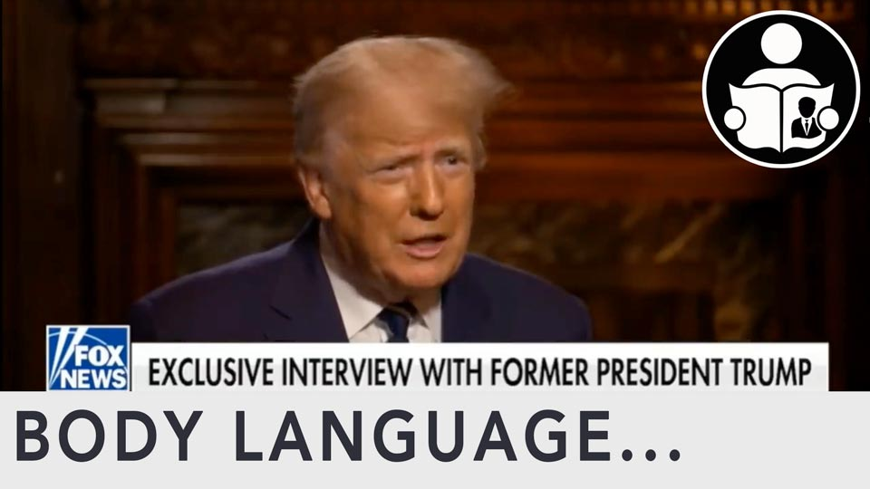 Body Language - President Trump, On Current Events