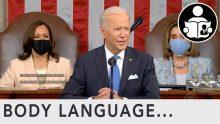 Body Language – Biden SOTU 2021