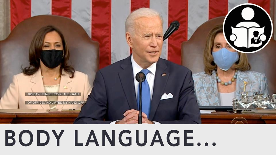 Body Language - Biden SOTU 2021