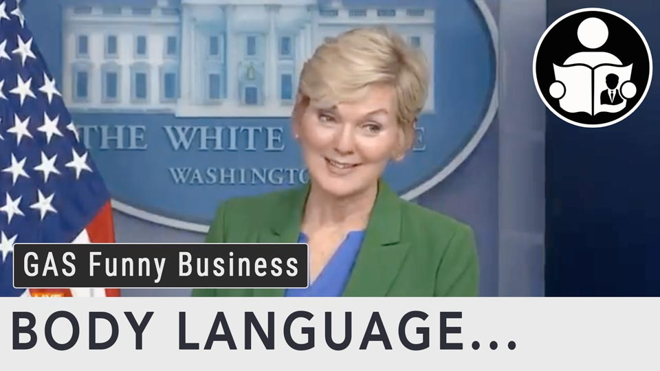 Body Language - Gas Shortage Funny Business