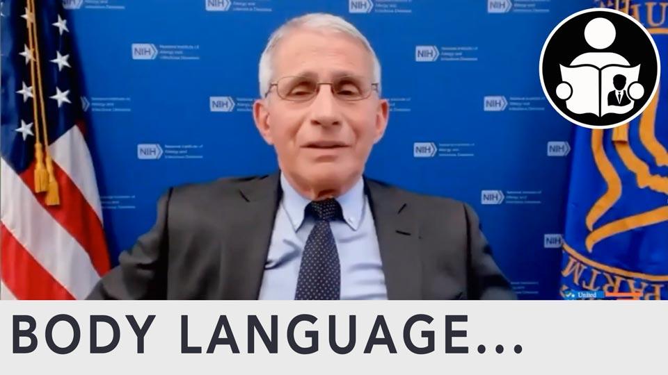 Body Language - Fauci & The Covid Origin