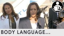 Body Language – Kamala Harris visit to the border