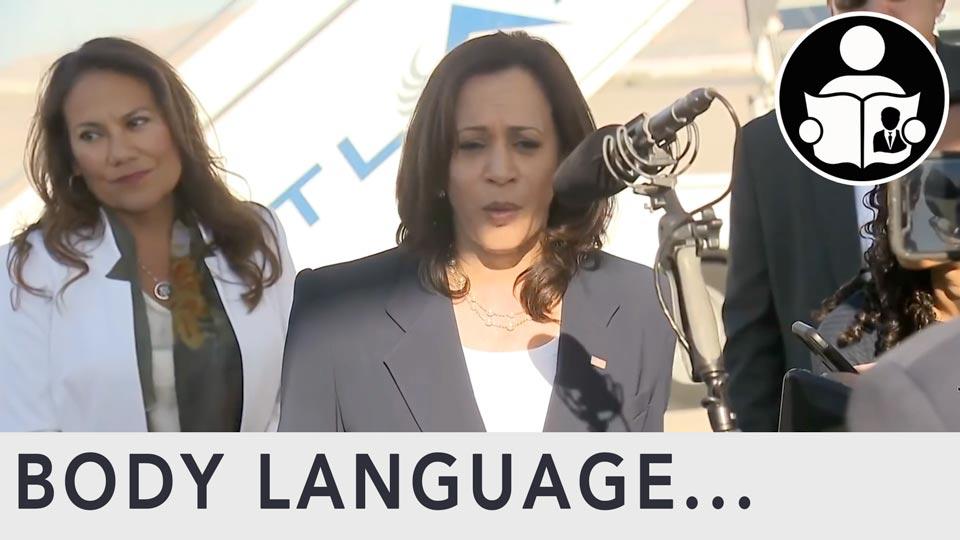 Body Language - Kamala Harris visit to the border