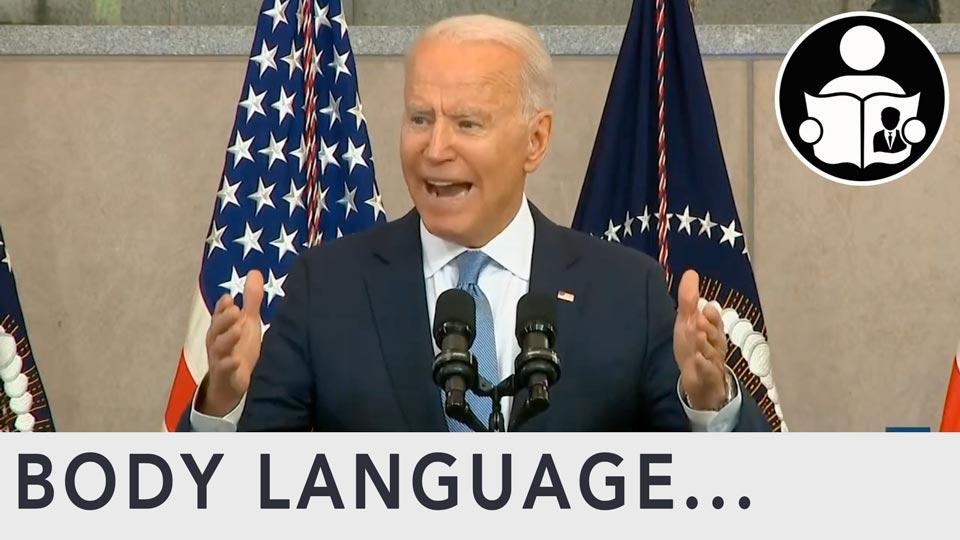 Body Language - Biden, who counts the votes