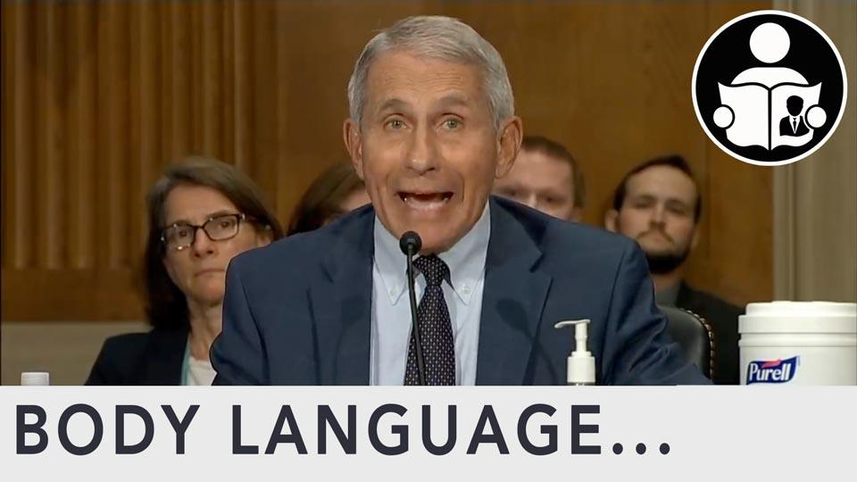 Body Language - Fauci Vs Rand Paul in Congress