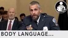Body Language – January 6th Congressional Testimony