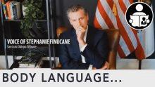 Body Language – Gavin Newsom, White Male Rage