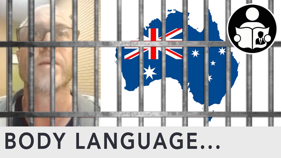 Body Language - Aussie in Thought Crime Prison