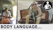 Body Language – Lt. Col. Stuart Scheller
