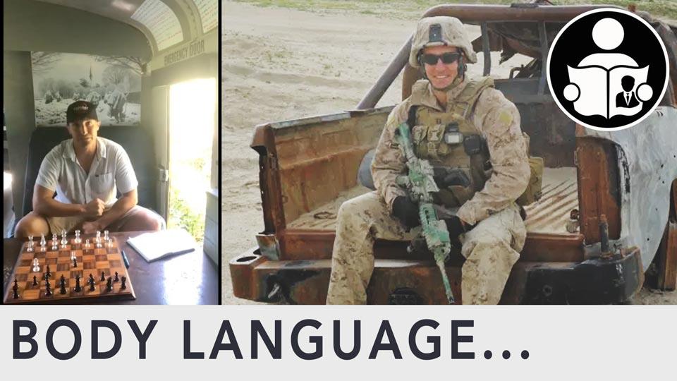 Body Language - Lt. Col. Stuart Scheller