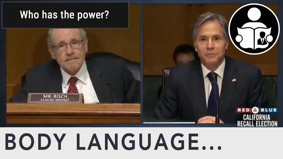 Body Language - Biden, who has the power